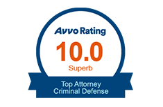 Avvo Rating 10.0 Superb Top Criminal Attorney